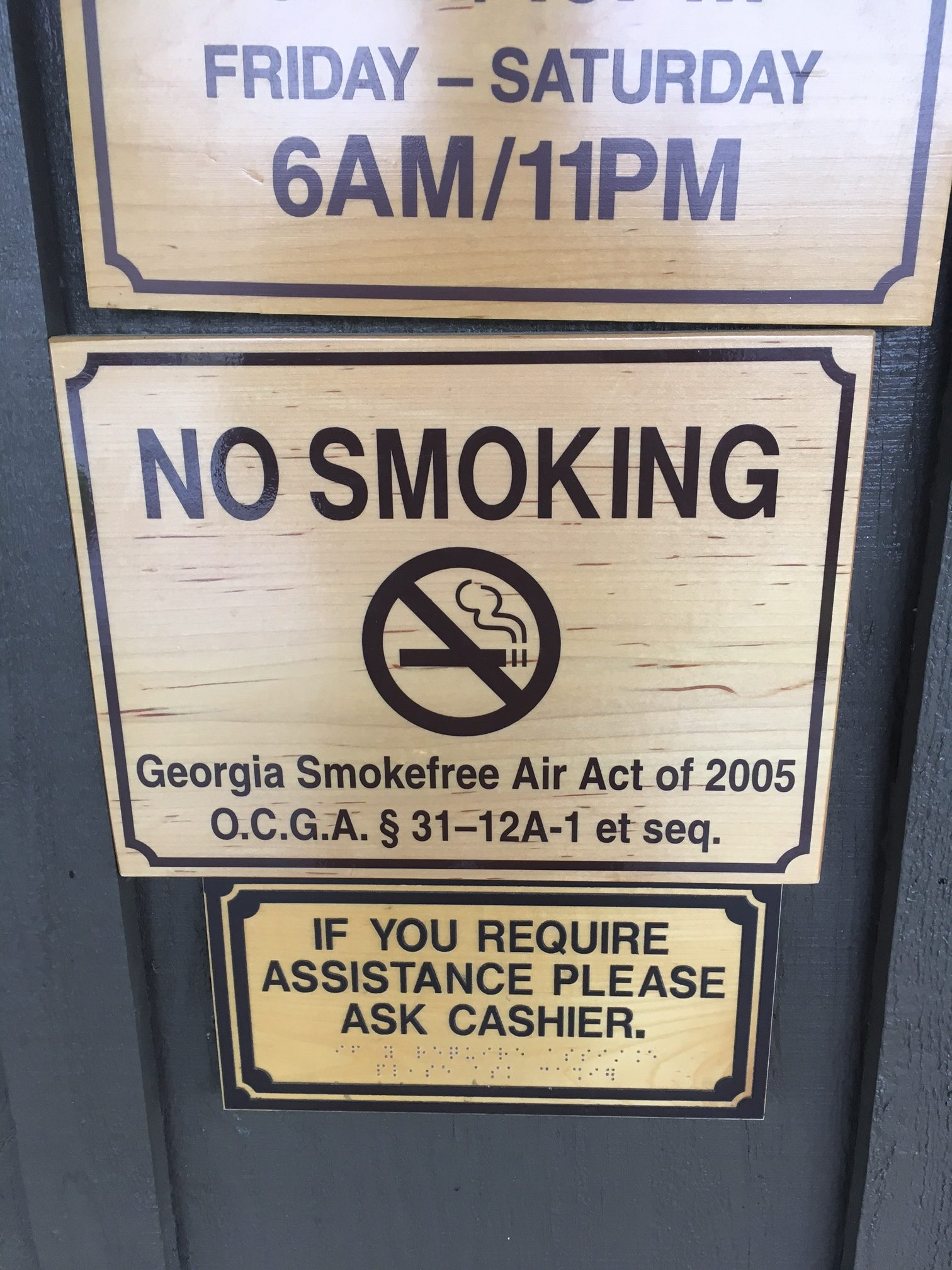 Smokefree Air Act of GA - Northwest Health Northwest Health